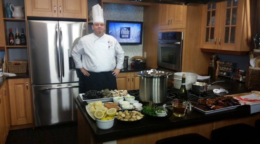 Chef Daniel Van Etten On  WPRI 12 the Rhode Show